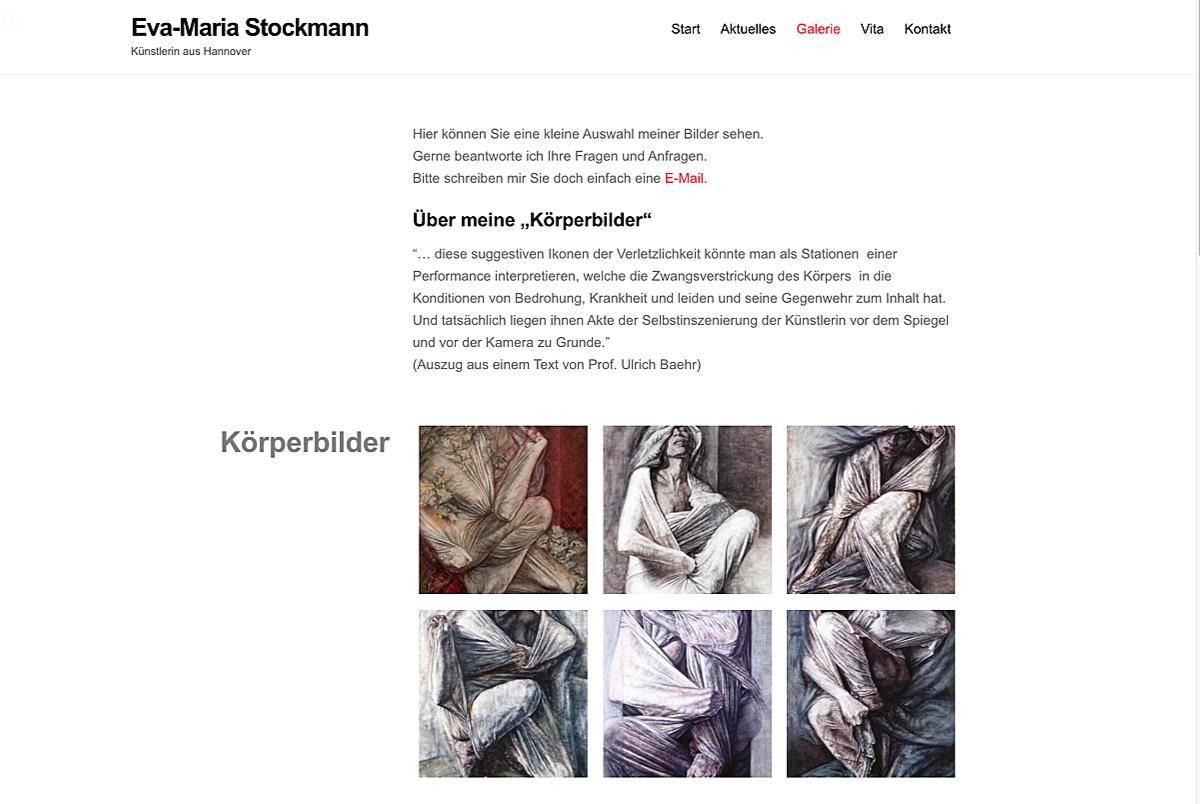 Webdesign - Eva-Maria Stockmann